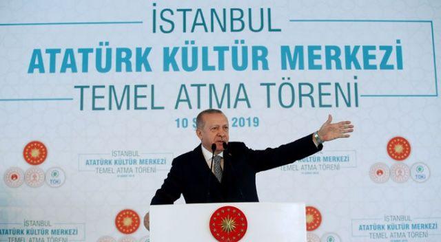 İstanbul'da tarihî gün! AKM'nin temeli atıldı