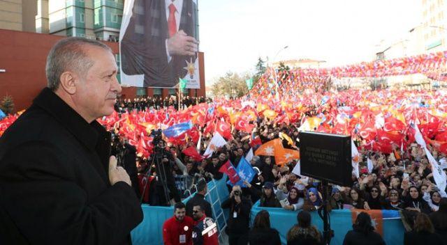Cumhurbaşkanı Erdoğan: CHP'nin başındaki zat gibi yalanla peynir gemisi yürütmeye çalışmıyoruz
