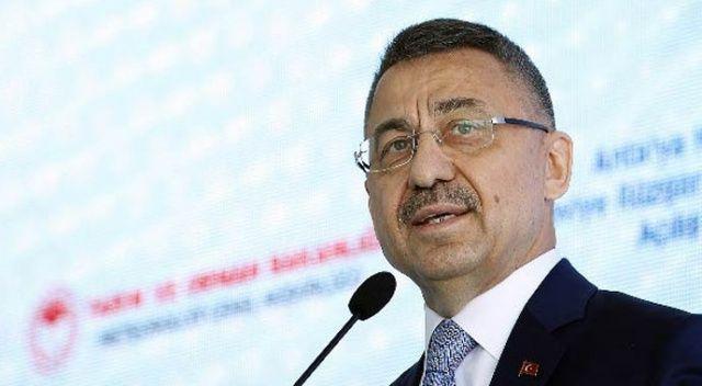 Cumhurbaşkanı Yardımcısı Oktay: Sadece İstanbul değil tüm Türkiye'de başarılacak
