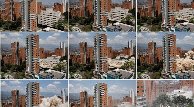 Escobar'ın Medellin'deki evi 375 kilo patlayıcı ile yıkıldı