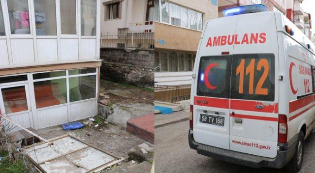 Eve balkondan girmek isteyen çocuk düşerek yaralandı