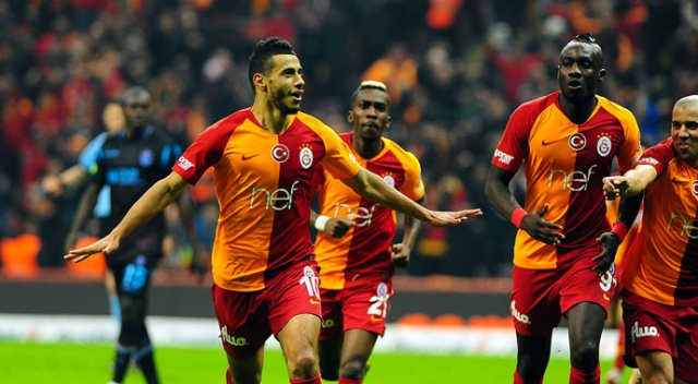 Galatasaray, sahasında Trabzonspor'u 3-1 mağlup etti