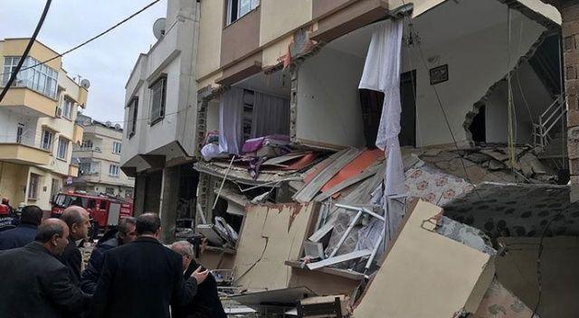 Gaziantepte doğalgaz patlaması: 4 yaralı