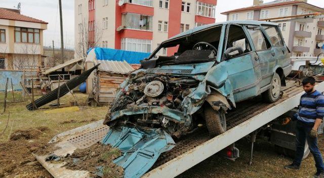 Hastaneye kontrole giden çiftin otomobili tarlaya uçtu: 1 ölü, 1 Yaralı
