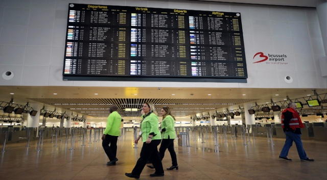 İşçi sendikalarının ulusal grev kararı Belçika'da hava trafiğini durdurdu