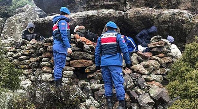 Jandarma 39 mülteciyi böyle yakaladı