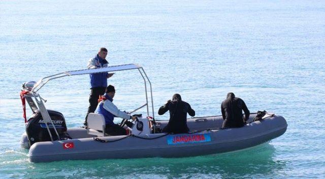 Kader Buse'yi arama çalışmaları denizde sürdürülüyor