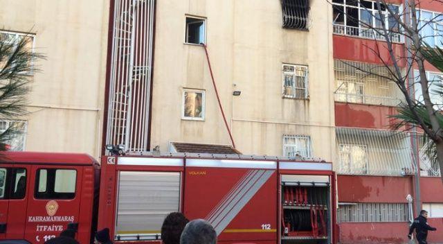 Kahramanmaraş'ta yangında dumandan etkilenen 5 kişi hastaneye kaldırıldı