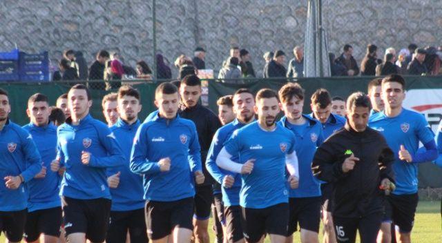 Karabükspor'da Osmanlıspor maçı hazırlıkları başladı