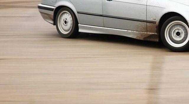 Kepez'de drift yapan sürücülere ceza