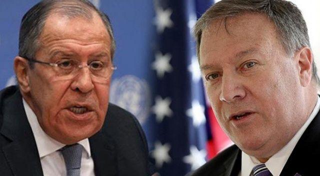 Lavrov'dan Pompeo'ya Venezuela uyarısı