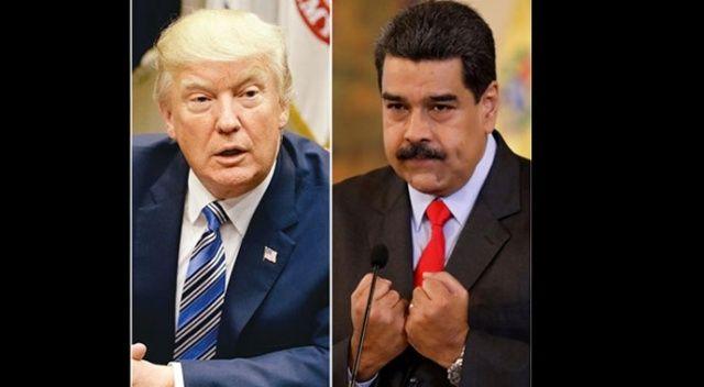 Maduro'dan Trump'a: 'Nerede ne zaman istersen buluşalım'