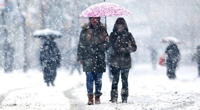 Meteorolojiden 3 il için kar yağışı uyarısı