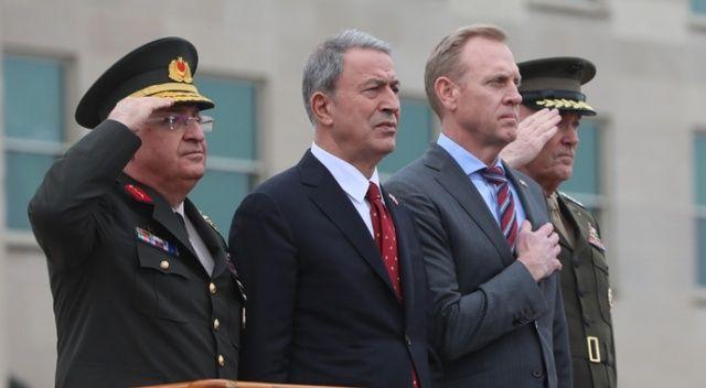 Milli Savunma Bakanı Akar: ABD ile güçlü ve yakın ilişkilerimizi devam ettirmek istiyoruz