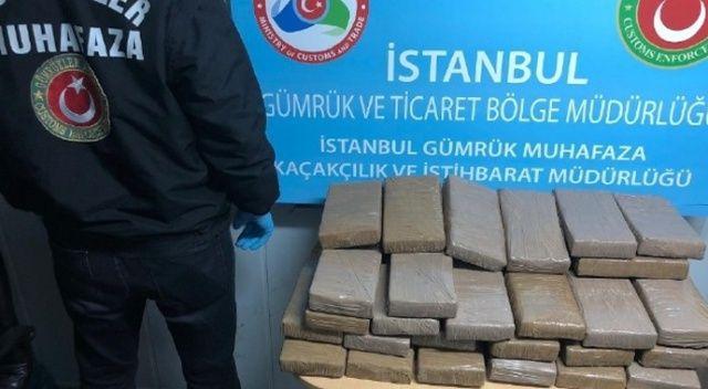 Muz yüklü konteynerden 79 kilo kokain çıktı
