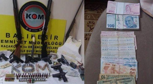 Organize suç örgütü üyesi 6 kişi tutuklandı