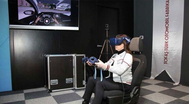 Otomotivde  sanal gerçeklik  ayrıcalığı