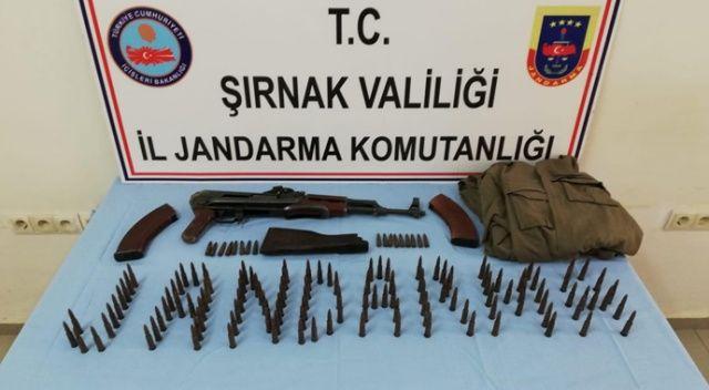 Şırnak'ta PKK'lılara ait mühimmat ele geçirildi