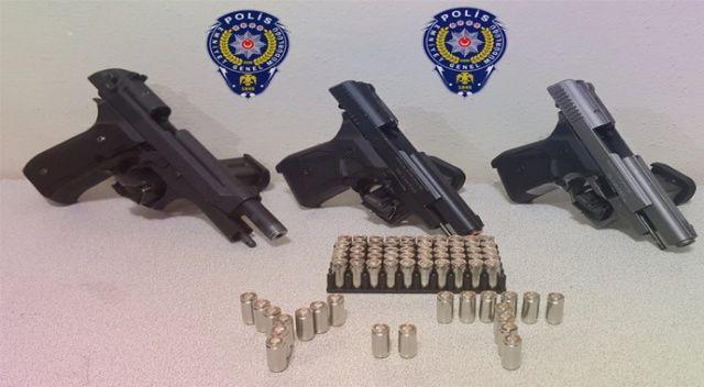 Şok uygulamalarında 37 silah ele geçirildi
