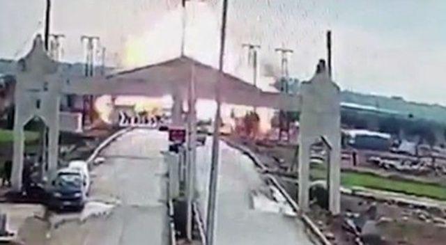Kilis sınırında patlama meydana geldi:  3 yaralı