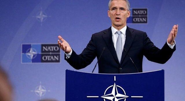 """Stoltenberg: """"Türkiye ve ABD'nin Suriye'nin kuzeyindeki işbirliklerinden dolayı memnunum"""""""