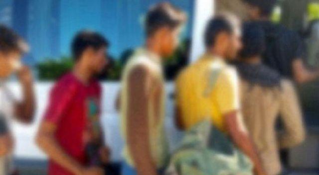 Tekirdağ'da 11 düzensiz göçmen yakalandı