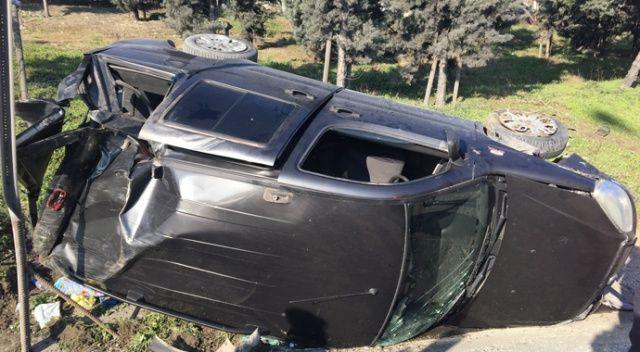 TEM Otoyolu Gaziosmanpaşa Mevkinde kaza: 1 yaralı