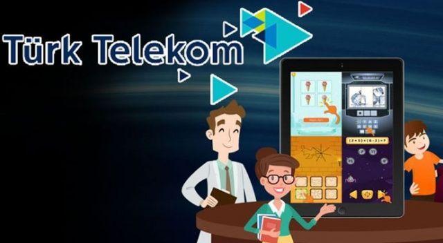 Türk Telekom çocukların eğitimine yatırım yapıyor