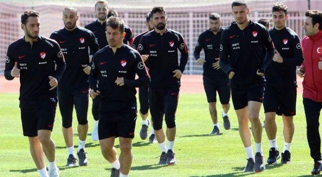 A Milli Futbol Takımı Arnavutluk'ta Moldova çalışmalarına başladı