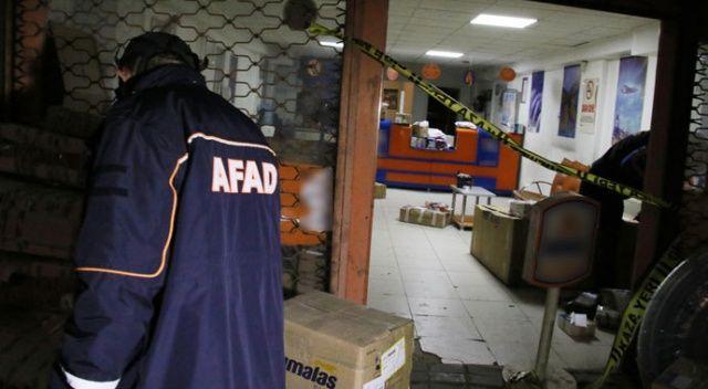 Ankara'da kargo şirketinde 'klor gazı' paniği