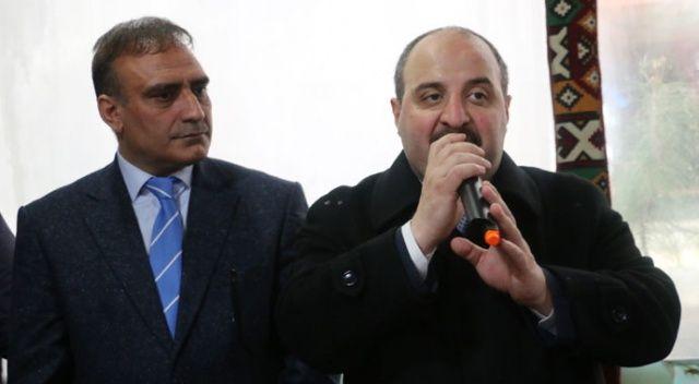 Bakan Varank: Buranın imkanlarını Kandil'e peşkeş çekenlere oy vermeyin