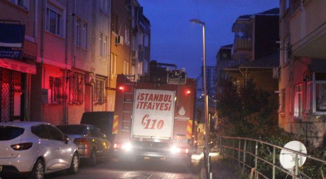 Beşiktaş'ta yangınla uyandılar