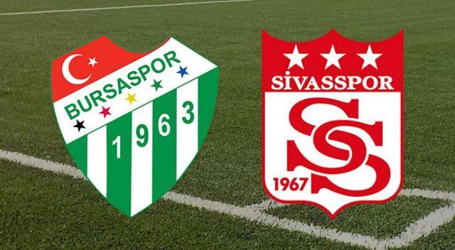 Bursaspor Sivasspor canlı şifresiz izle | Bursa Sivas maçı canlı skor kaç kaç?