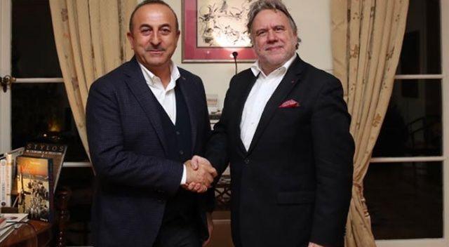 Çavuşoğlu, Brüksel'de Yunan mevkidaşıyla bir araya geldi