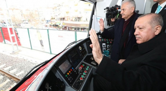 Cumhurbaşkanı Erdoğan: İstanbulluya 1 saat 10 dakika kazandıracak