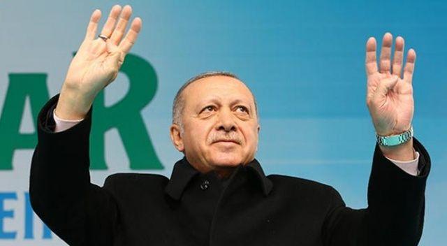 Cumhurbaşkanı Erdoğan, Twitter'dan o dizeyle cevap verdi