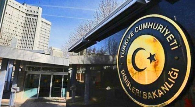 Dışişleri Bakanlığı'ndan Yeni Zelanda'daki terör saldırısına kınama