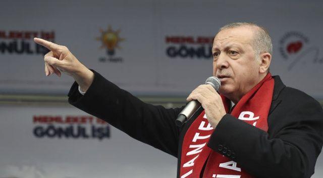 Erdoğan: Ahlaksız, alçak sen kolayı seçtin