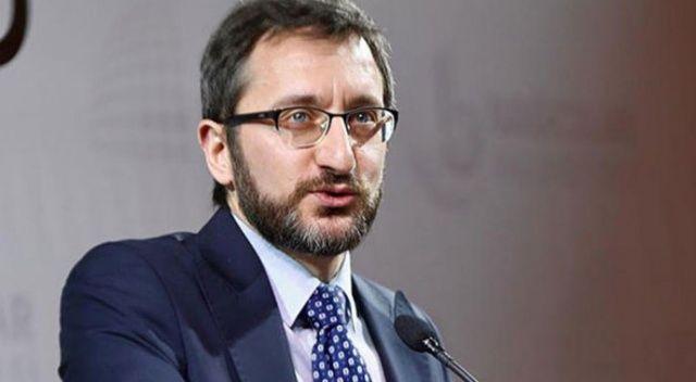 Fahrettin Altun: El birliğiyle Cumhurbaşkanımızı yolundan çevirmek için çalışıyorlar