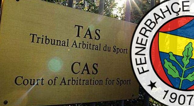 Fenerbahçe'den CAS bilgilendirmesi