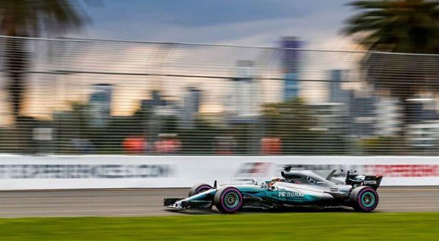 Formula 1'de heyecan başlıyor