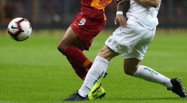 Galatasaray ile Bursaspor 100. randevuda