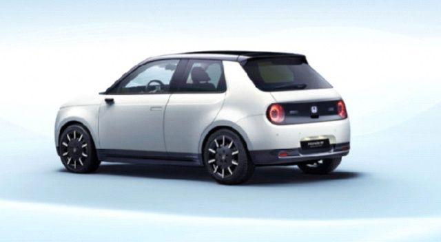 Honda e Prototype 2020'de Türkiye'de