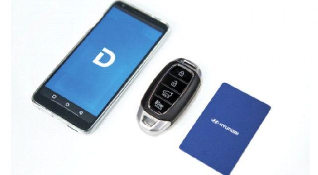 Hyundai'den  Dijital Anahtar
