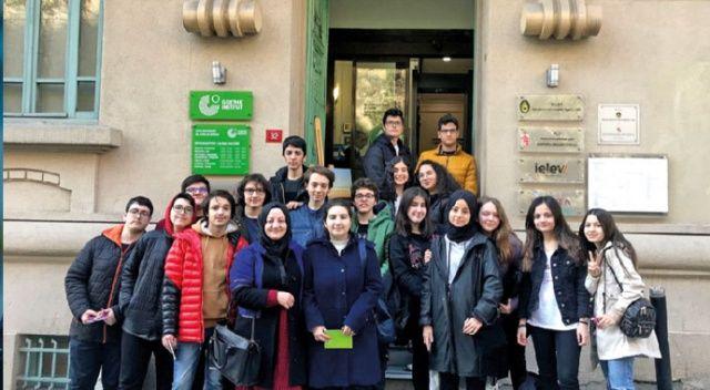 İhlas Koleji Beyoğlu'nda Almancanın izlerini sürdü
