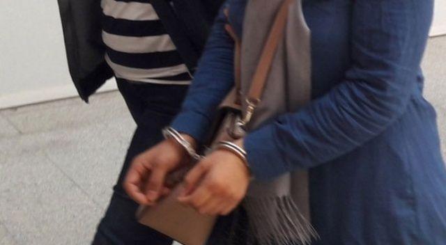 İnterpol'ün kırmızı bültenle aradığı kadın Bursa'da yakalandı
