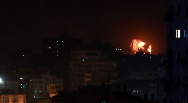 İsrail ordusu Gazze'de 100 hedefi vurdu