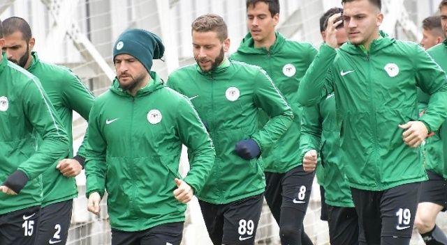 Konyaspor, Çaykur Rizespor maçına hazır