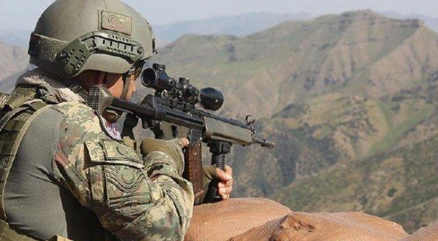 Kuzey Irak'ta operasyon: 12 terörist etkisiz hale getirildi