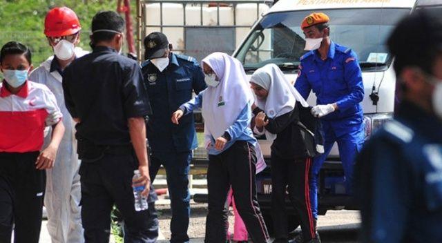 Malezya'daki kimyasal sızıntıdan 3 bin 555 kişi etkilendi